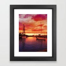 Spanish Marina II Framed Art Print