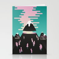 Enchanted Mountains Stationery Cards