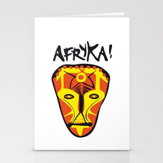 Afryka! Stationery Card