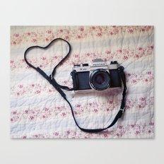 Camera  Love Canvas Print