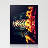 Carnival Lights, The Zipper Stationery Cards
