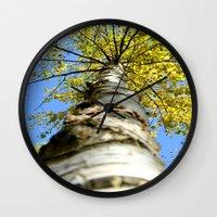 Running up the tree  Wall Clock
