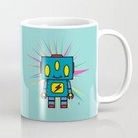 Vintage Kid Robot Mug