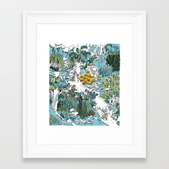 Kitchen Garden Framed Art Print