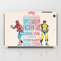 Espectacular Encuentro iPad Case