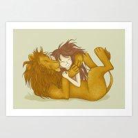 Wild Friendship Art Print