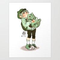 Bulbasaur!  Art Print