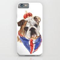 Thank you LONDON - British BULLDOG - Jubilee Art iPhone 6 Slim Case