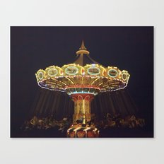 Night Spin Canvas Print