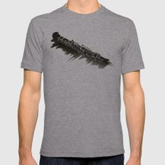 oboe Mens Fitted Tee Athletic Grey SMALL