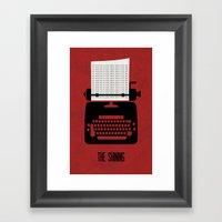 The Shining - Minimalist… Framed Art Print