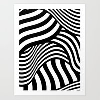 Razzle Dazzle II Art Print