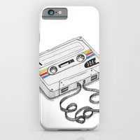 iPhone & iPod Case featuring Cassette by Sonia Puga Design