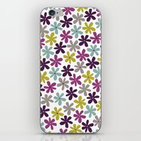Allium Ditsy iPhone & iPod Skin