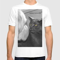 You really wanna do this? Mens Fitted Tee White SMALL