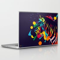 zebra Laptop & iPad Skins featuring ZEBRA by mark ashkenazi