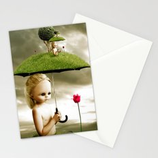 Eve's Umbrella Stationery Cards