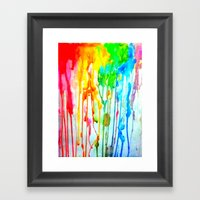 Colors of life : Colors Series 3 Framed Art Print