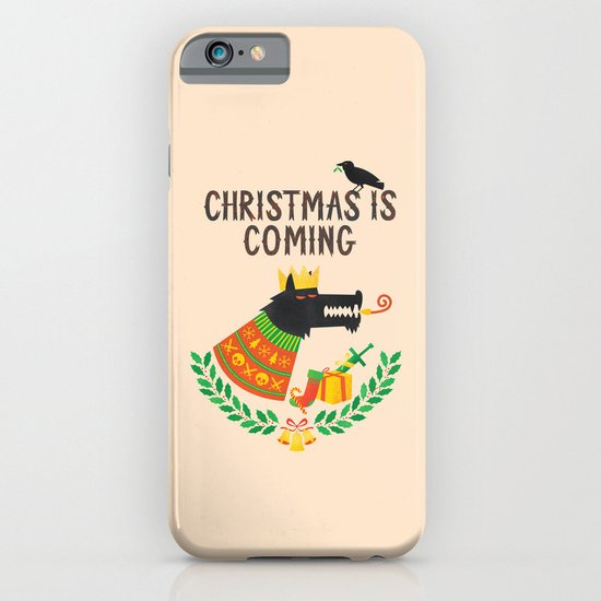 Christmas is coming iPhone & iPod Case