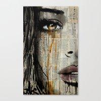 silent jungle Canvas Print