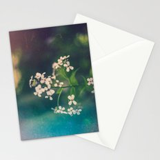 And we spent the hours with submarine flowers Stationery Cards