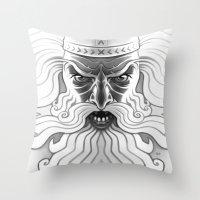 Väinämöinen Crossing … Throw Pillow
