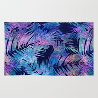 Waikiki Tropic {Blue} Rug