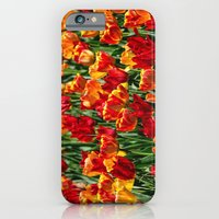 Field of Spring Tulips iPhone 6 Slim Case