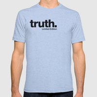 truth. {Limited Edition} Mens Fitted Tee Athletic Blue SMALL
