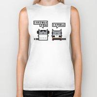 I Meow You - Cat Wars Biker Tank