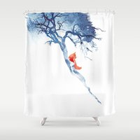 There's No Way Back Shower Curtain