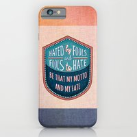Hated by Fools  iPhone 6 Slim Case