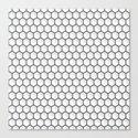 Design Hexagon Canvas Print