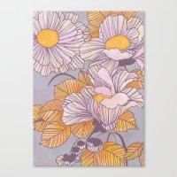 Sun Blossoms Canvas Print