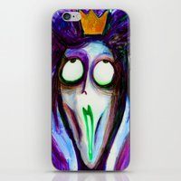 Madness Of The Queen iPhone & iPod Skin
