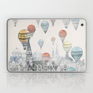 Laptop & iPad Skin featuring Voyages Over Edinburgh by David Fleck