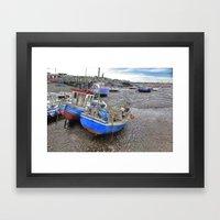 Fishing Fleet - Paddy's … Framed Art Print