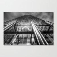 One Canada Square London Canvas Print