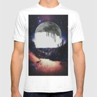 Night Hike Mens Fitted Tee White SMALL