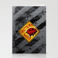 Caution: Skitters Ahead (Falling Skies) Stationery Cards