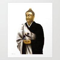 SIDDHARTHA GAUTAMA Buddh… Art Print