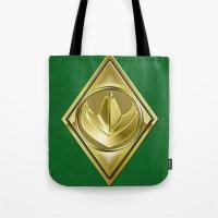Green Ranger Tote Bag