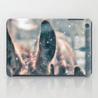 Snowing Donkey iPad Case