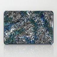 Zebra And Leopard Patter… iPad Case