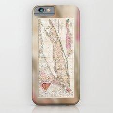 Long Island, New York  1842 Mather Map iPhone 6 Slim Case