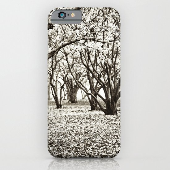 Magnolias in Black & White iPhone & iPod Case