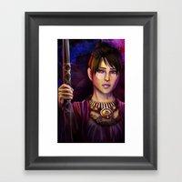 Witch Framed Art Print