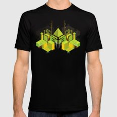 Temple of the Weeping Pyramid Mens Fitted Tee Black SMALL