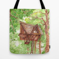 Treehouse Retreat Tote Bag