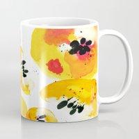 Water Flowers Mug